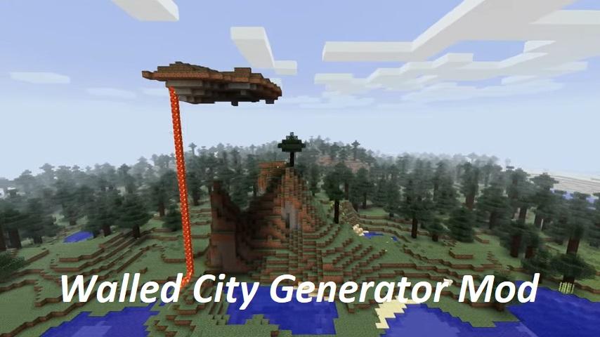 Walled City Generator Mod